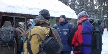 На новогодних каникулах 18 туристов заблудились на Южном Урале