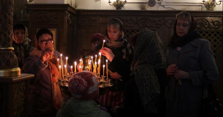 В Пасху в храмах города пройдут ночные богослужения