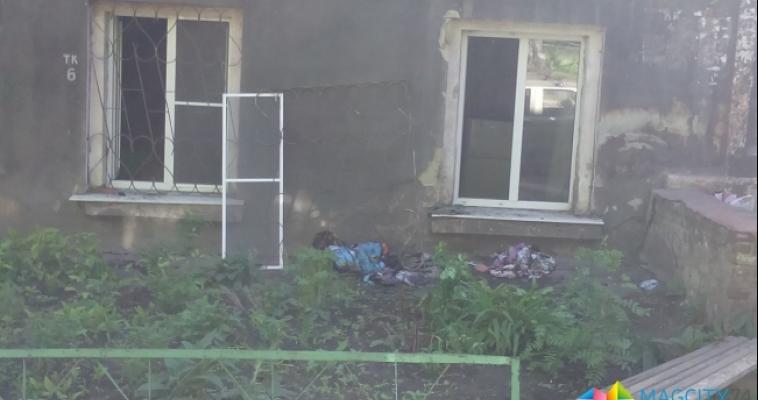 Утренний пожар уничтожил все! Магнитогорцев просят помочь молодой маме с ребёнком