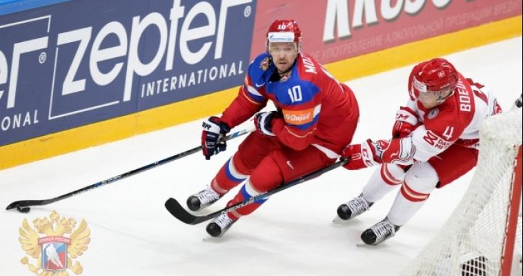 Сергей Мозякин помог разгромить сборную Дании и набрал свое 1001-е очко!