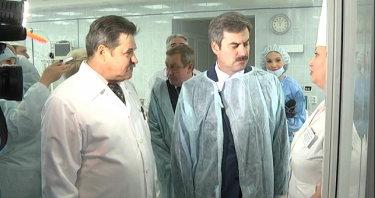 Сегодня с рабочим визитом в Магнитку приехал замгубернатора Евгений Редин