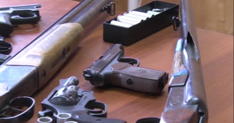 Полицейские изъяли более 200 единиц оружия у нерадивых охотников