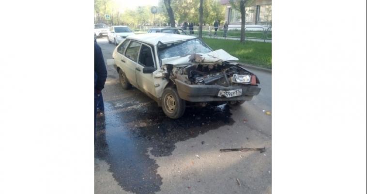 Водитель «девятки», влетевшей в «ГАЗель», был пьян
