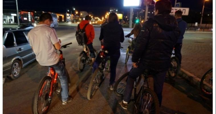 Велосипедисты собираются на первый пин-микс