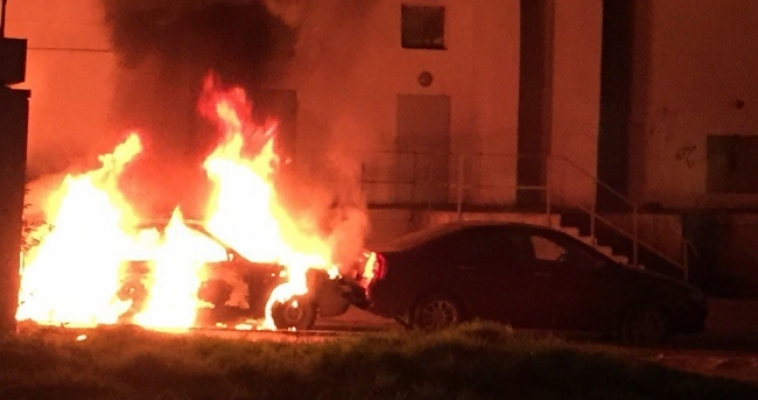 На Ленина сгорела «десятка»
