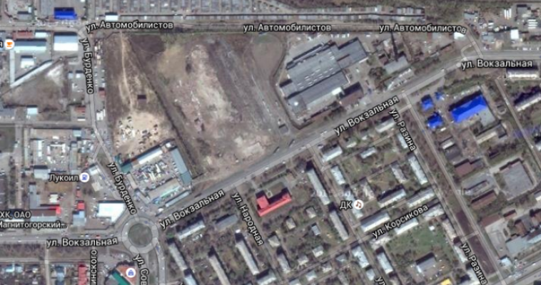 Вместо снесённого депо на ул. Вокзальная появится торговый центр