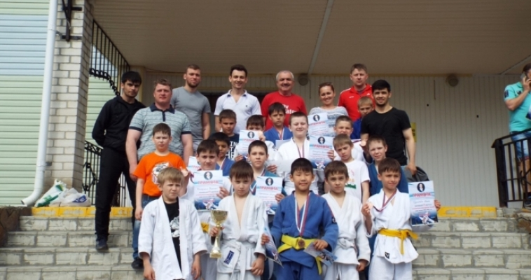 Юные спортсмены привезли медали с командного турнира по дзюдо в Сосновке