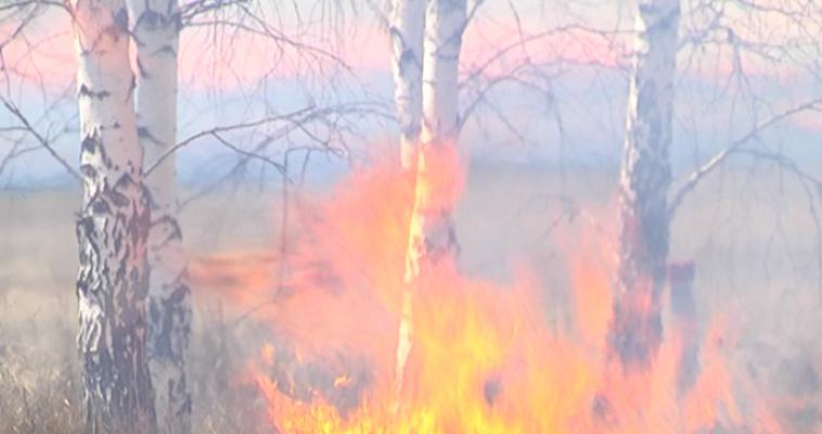 В регионе возможны пожары
