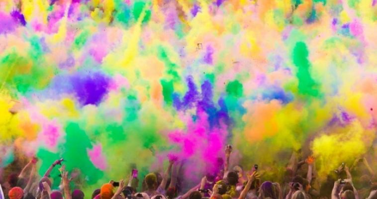 Горожан приглашают на фестиваль цвета