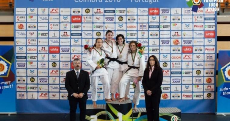 Магнитогорская дзюдоистка завоевала медаль Кубка Европы