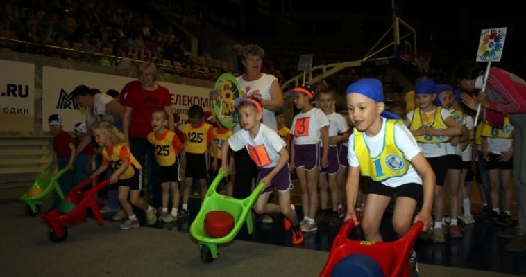 Главное, чтобы дети улыбались! Дошколята по-спортивному отметили День защиты детей
