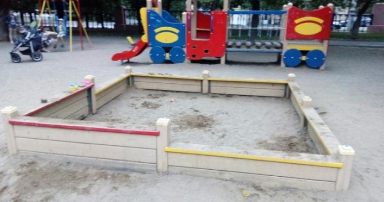 Песочница без песка. Детская Мекка в парке Металлургов  вызвала недовольство мам