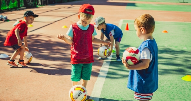 Азбука футбола для самых маленьких. В городе начала работу необычная спортивная школа