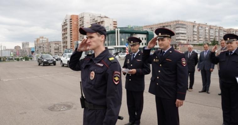 Магнитогорские полицейские прошли общегарнизонный инструктаж