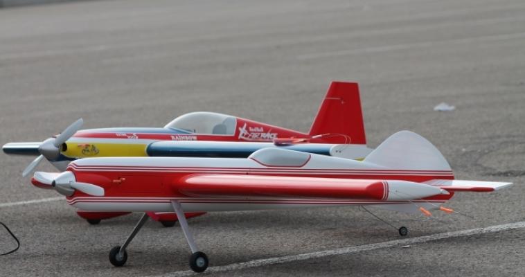 Начались соревнования по авиамодельному спорту