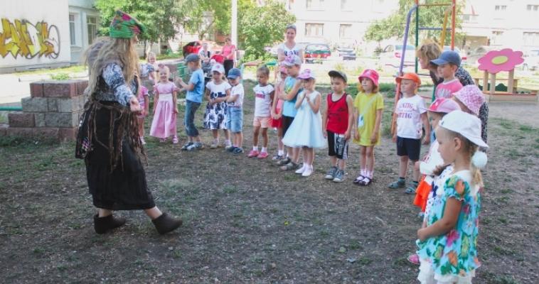«Книжка вышла погулять». Возле детской библиотеки №2 откроется выставка под открытым небом