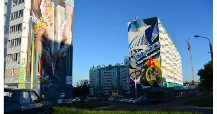 Магнитогорский граффити-проект отмечен на всероссийском уровне