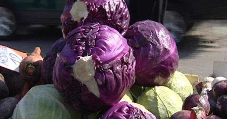 Цены на овощи вернулись к значениям прошлой недели