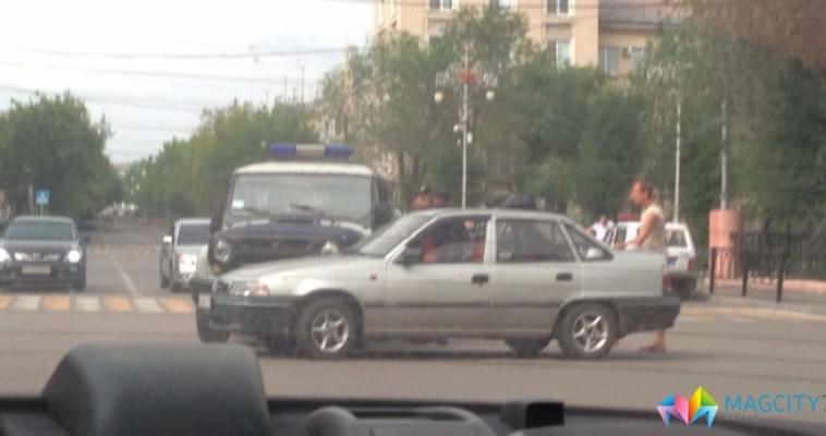 Необычное ДТП на проспекте Металлургов
