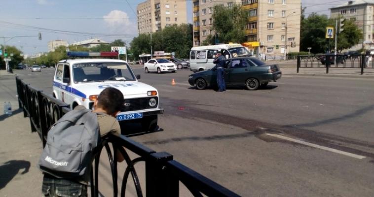 Ребенок под колесами. Авария на Советской Армии