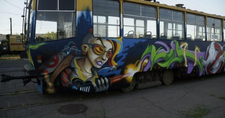 «Охотники за привидениями» на магнитогорском трамвае