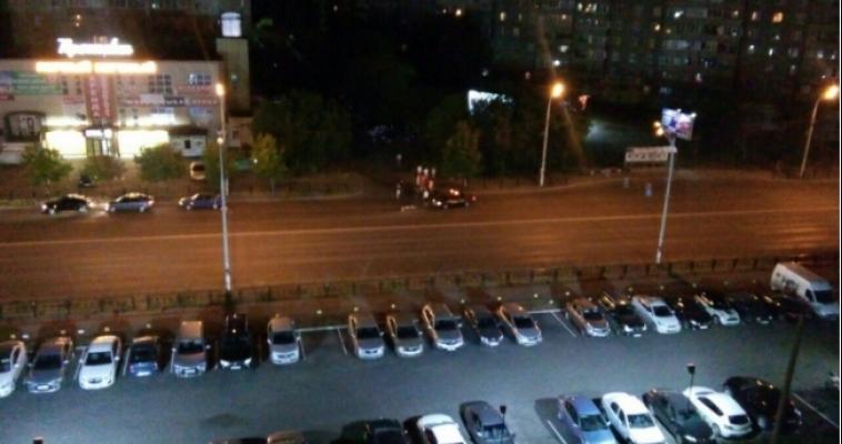 Видео страшного ДТП на проспекте Ленина