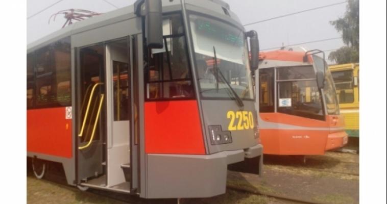 На празднование Дня строителя и обратно можно будет добраться на трамвае