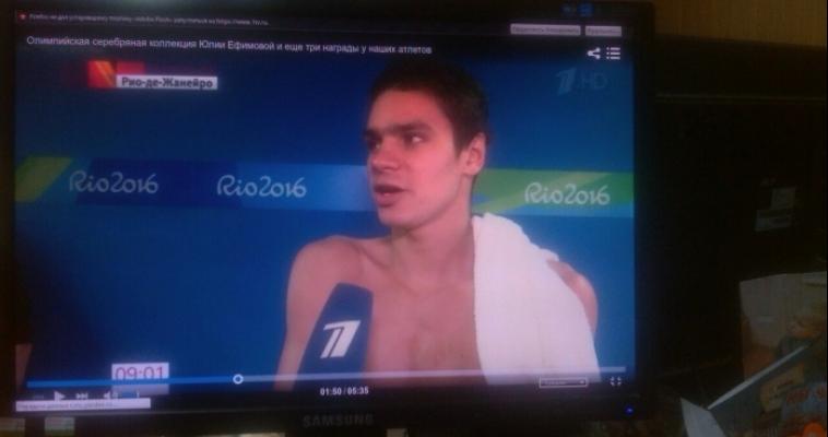Завоевал олимпийскую медаль и установил рекорд Европы