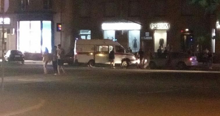 На проспекте Ленина сбили девушку