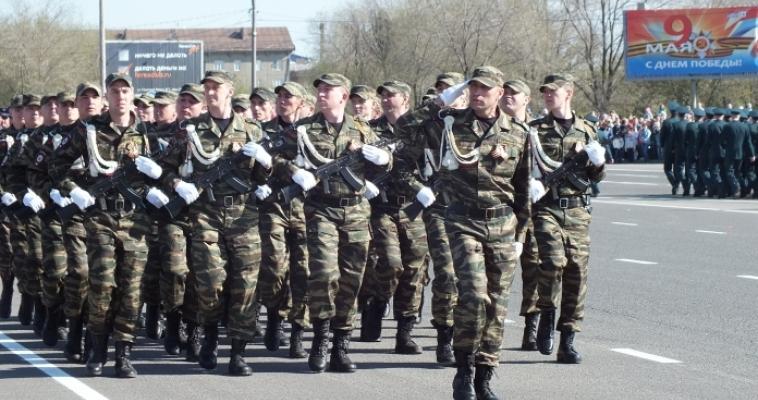 Сотрудники патрульно-постовой службы приняли поздравления с профессиональным праздником