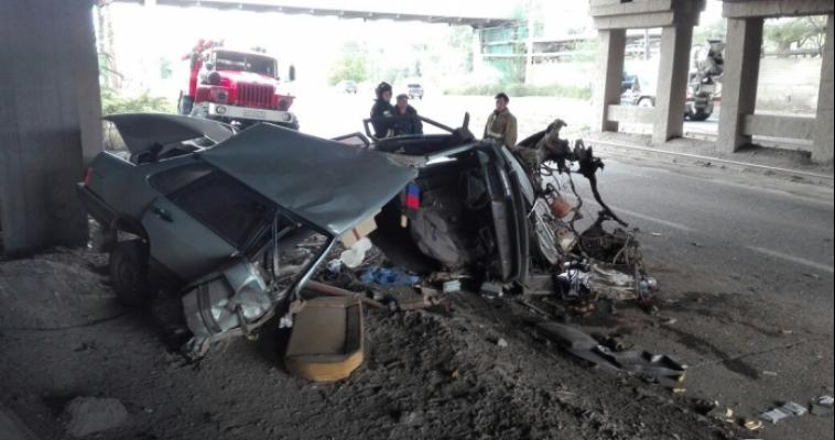 Возле ККЦ вновь произошла жуткая авария