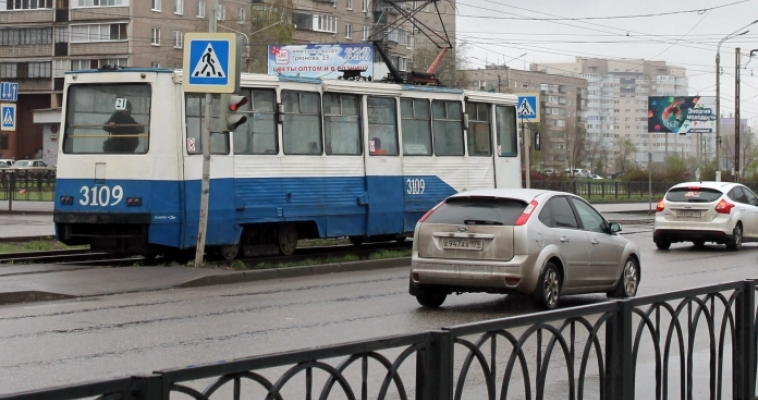 Движение трамваев на нескольких участках прекращено