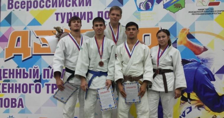Магнитогорские дзюдоисты завоевали пять медалей в Уфе