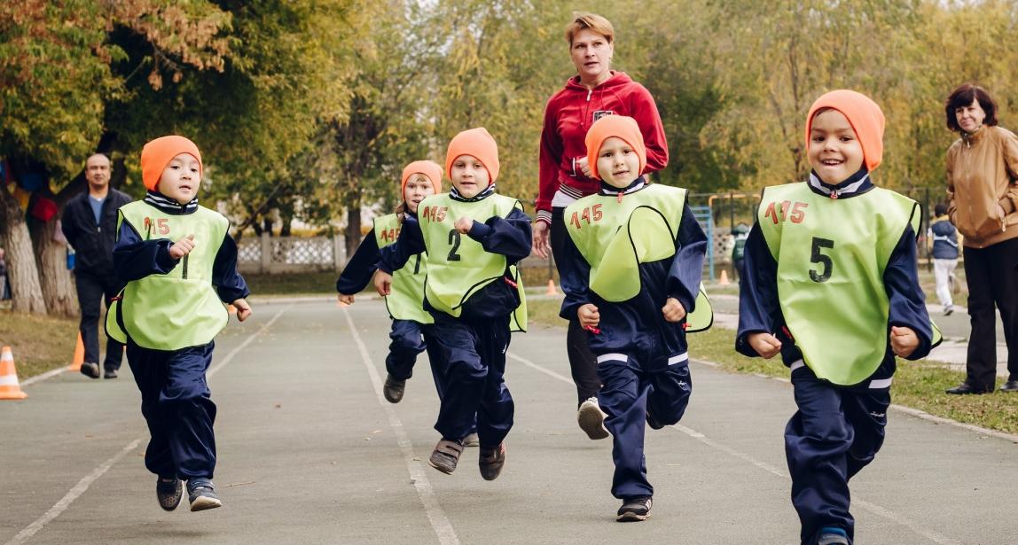Дошколята, на старт! Кросс «Золотая осень» собрал рекордное количество юных спортсменов