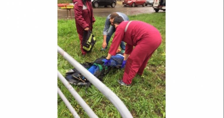 На Суворова сбили ребёнка. Официальная информация