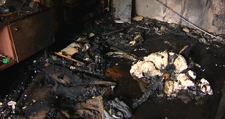 Пожар унес жизнь мужчины