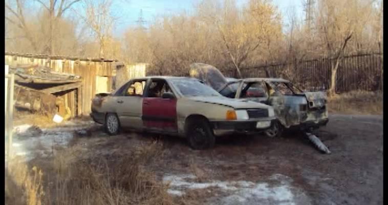 Три загоревшихся авто