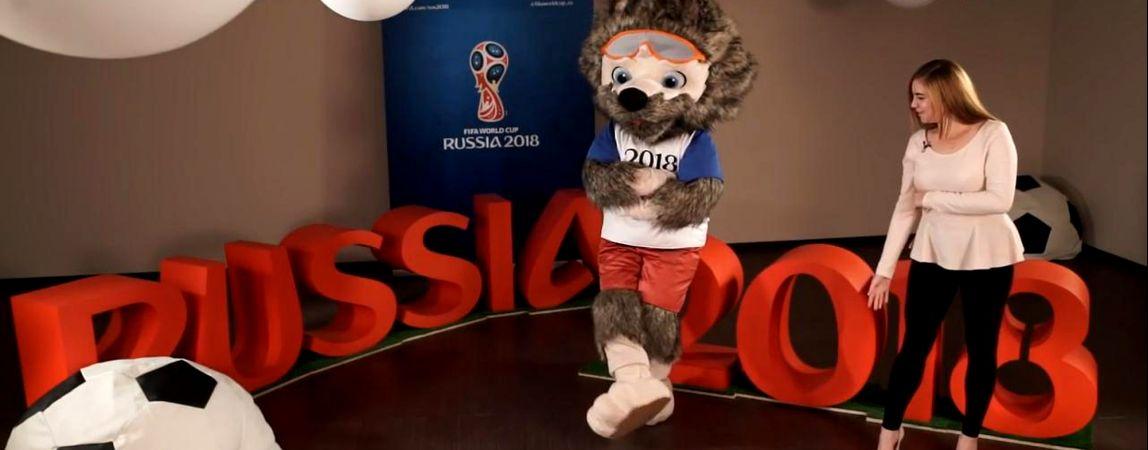 «Собака-Забивака». Официальным талисманом чемпионата мира по футболу 2018 года стал волк