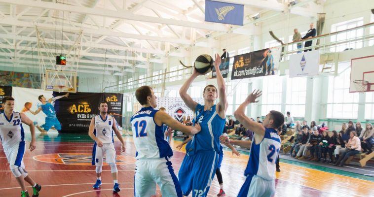 Обменялись победами. Студенческая команда по баскетболу МГТУ сыграла перед своими болельщиками
