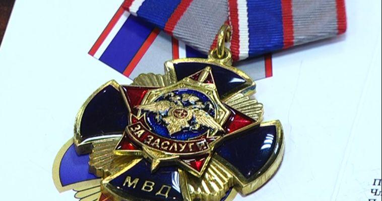 Они отдали лучшие годы службе. Медали тем, кто был на страже порядка