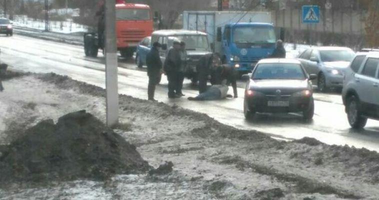 На Советской сбили пешехода