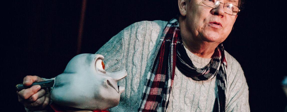 Актер, режиссер, диктор. У ведущего артиста театра «Буратино» Александра Анкудинова юбилей