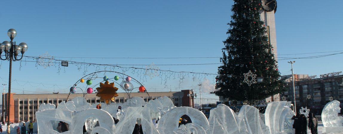 Новая ёлка украсит центральный ледовый городок