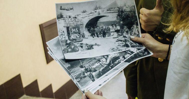 Битва в формате игры. Студенты окунулись в историю войны