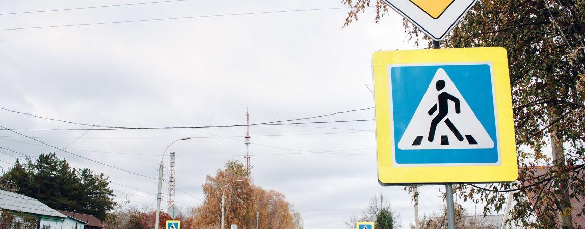 Кривая линия. Управление транспорта отчиталось о разметке на дорогах