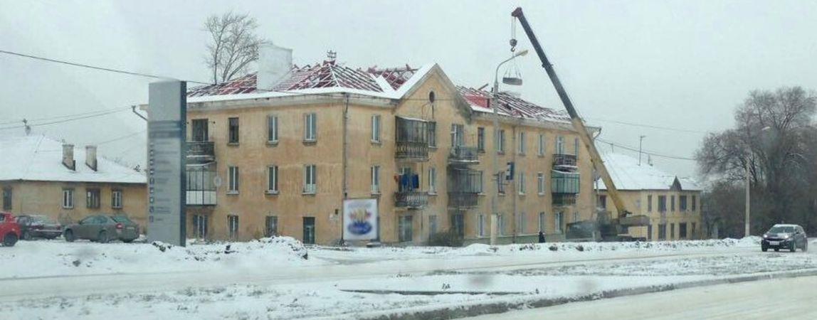 Зимой крыши ремонтировать удобнее