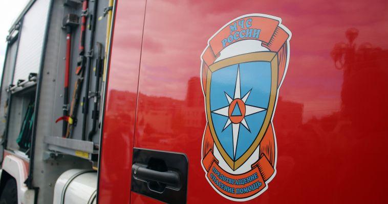 В районе Спутника горел микроавтобус