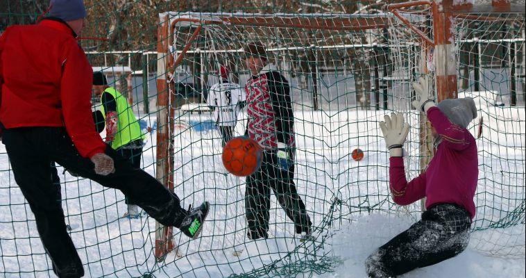 Любите футбол на морозе? Тогда «Снежный мяч» вас уже ждет