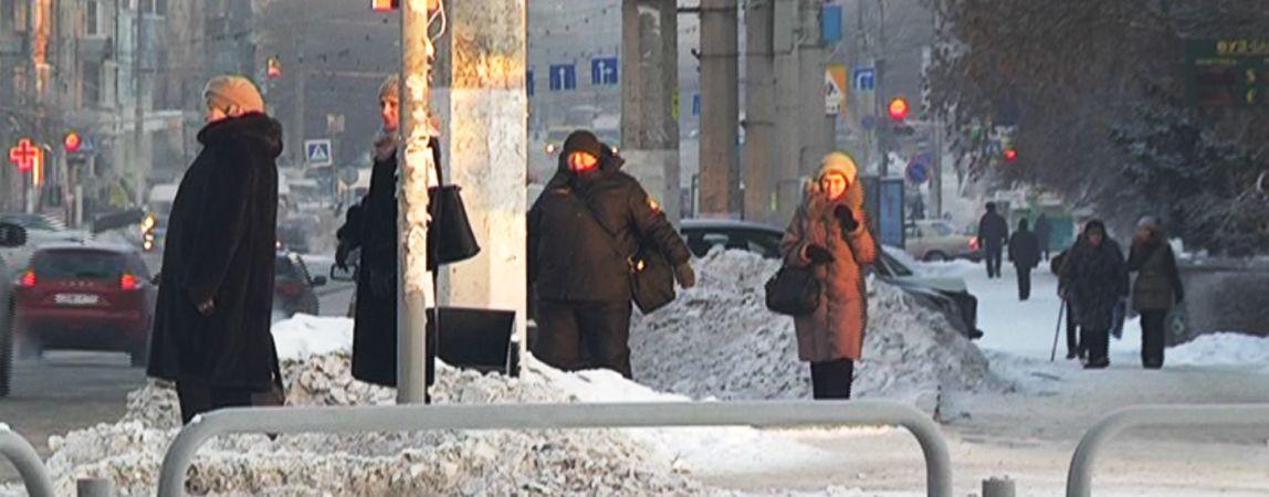 Число обмороженных выросло. Горожан просят быть внимательными к своему здоровью в морозы, а коммунальщиков работать без перебоя