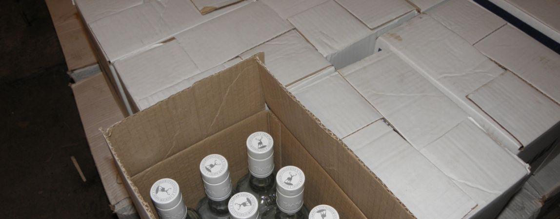 За один день изъяли более 138 литров спиртосодержащих лосьонов